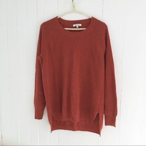 Madewell Waffle Knit Pullover